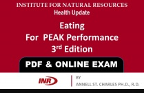 Pharmacist: Eating For PEAK Performance 3rd Edition