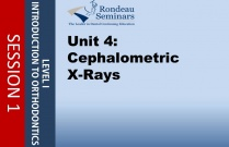 Cephalometric X-Rays - Session #1: unit 4