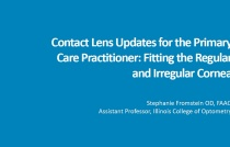 Contact Lens Updates for the Primary Care Optometrist