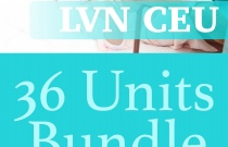 36 Continuing Education Units for LVN