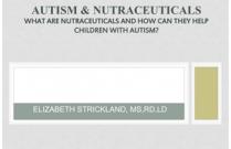 Autism & Nutraceuticals