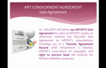 The Artist-Gallery Agreement