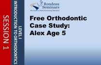 Orthodontic Case Study: Alex Age 5