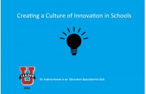 Creating a Culture of Innovation in Schools