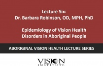 Epidemiology of Vision Health Disorders in Aboriginal people