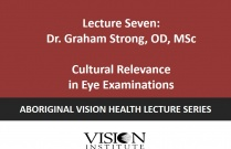 Cultural Relevance in Eye Examinations