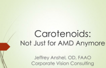 Carotenoids:Not Just for AMD Anymore