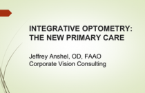 Integrative Optometry: The new Primary Care