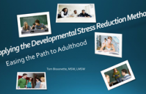 Easing the Path from Adolescence to Adulthood - Applying the Developmental Stress Reduction Method