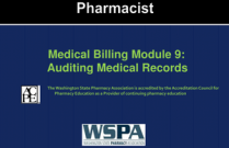 Medical Billing Module 9: Auditing Medical Record for Pharmacists