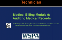 Medical Billing Module 9: Auditing Medical Record for Technicians