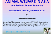 Animal Welfare in Asia