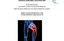 Anterior Knee Pain - Hints and Tips