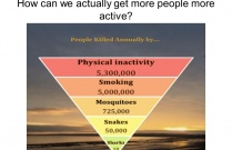 How can we increase Physical Activity