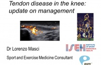 Tendon disease around the knee - update