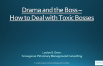 Drama and the Boss – How to Deal with Toxic Bosses