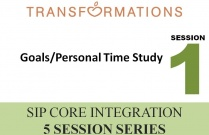 SIP Core Integration Seminar 1: GoalsPersonal Time Study