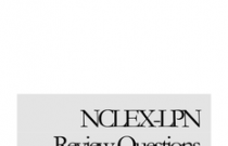 NCLEX –LPN REVIEW QUESTIONS
