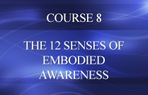 COURSE 8 - THE 12 SENSES OF EMBODIED AWARENESS