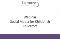 Webinar Social Media for Childbirth Educators