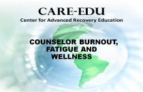 Counselor Burnout, Fatigue and Wellness