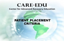 Patient Placement Criteria