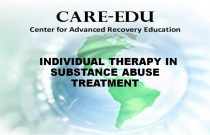 Individual Therapy in Substance Abuse Treatment