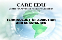 Terminology of Addiction and Substances