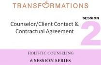 Holistic Counseling Seminar 2: Counselor/Client Contact and Contractual Agreement