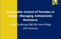 Sustainable Control of Parasites in Sheep - Managing Anthelmintic Resistance