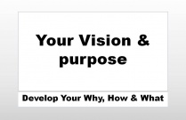 Your Vision and Purpose