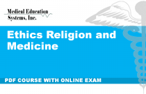 Ethics Religion and Medicine