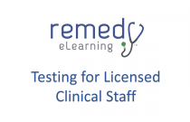 Testing for Licensed Clinical Staff
