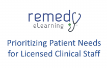 Prioritizing Patient Needs for Licensed Clinical Staff