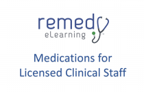Medications for Licensed Clinical Staff