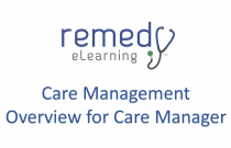 Care Management Overview for Care Manager