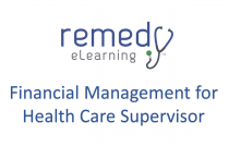 Financial Management for Health Care Supervisor