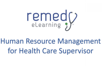 Human Resource Management for Health Care Supervisor