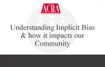 Understanding Implicit Bias & How It Impacts Our Community - Recorded: 12/11/15