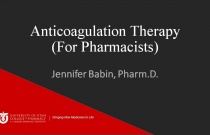 Anticoagulation Therapy (For Pharmacists)