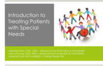 Module 1: Introduction to Special Care Dentistry