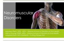 Module 6: Neuromuscular Disorders