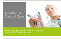 Module 10: Sedation & Special Care