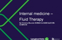 Internal medicine- Fluid Therapy