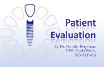 Course 2: Patient Evaluation