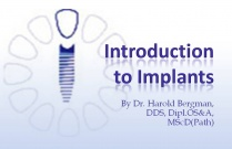 Course 1: Introduction to Implants
