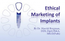 Course 12: Ethical Marketing of Implants