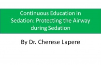 Continuous Education in sedation: Protecting the airway during sedation