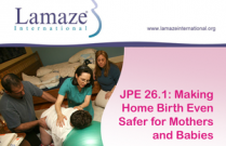 JPE 26.1 Making Home Birth Even Safer for Mothers and Babies