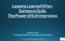 Lessons Learned When Someone Quits – The Power of Exit Interviews